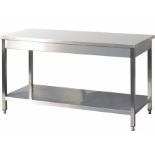 Table inox centrale C-127