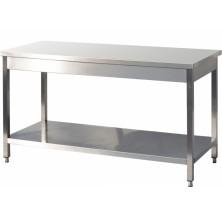 Table inox centrale C-127