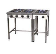 Plaques de cuisson inox traiteur 4 feux