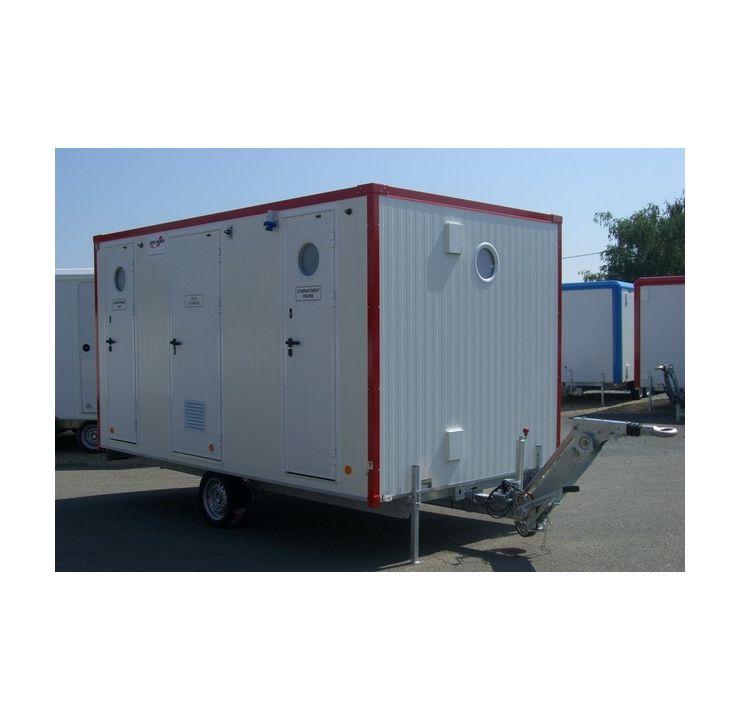 Unité Mobile de Décontamination 3 SAS G1160